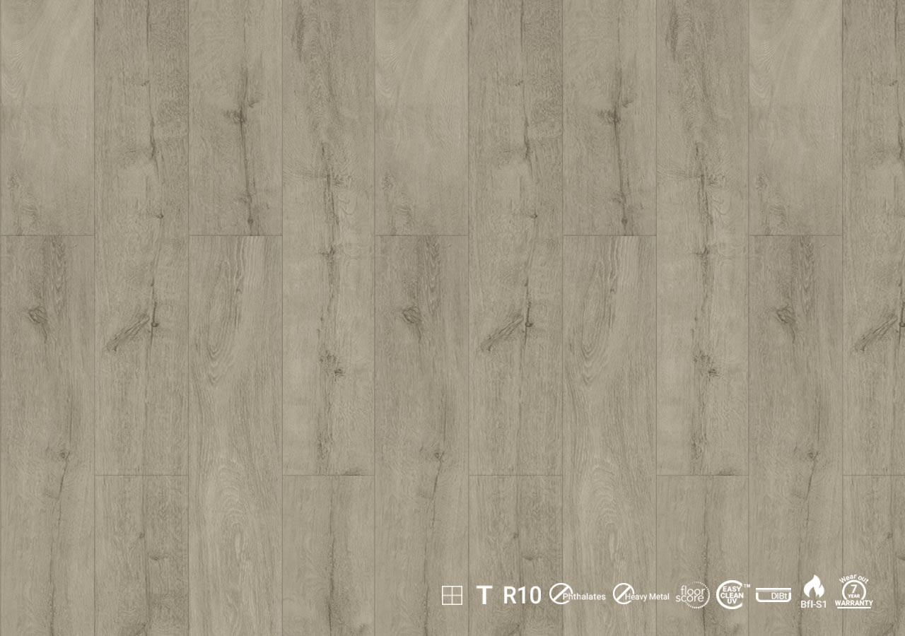 ILW 1201 Silvered Timber Decoclick
